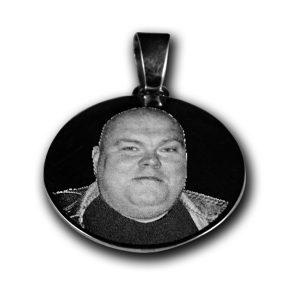 Hõbedast ümmargune medaljon 30mm