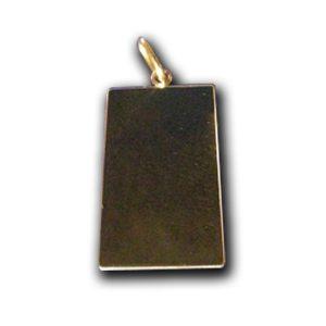 Kullast medaljon 21x35